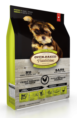 Oven-baked Tradition Dry Food Puppy Small Breed Chicken-1