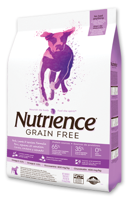 Nutrience Grain Free - Pork, Lamb & Venison Formula-1