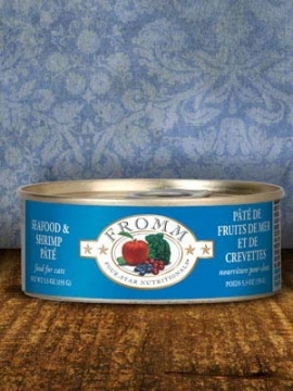 Fromm Seafood and Shrimp Paté For Cats-1