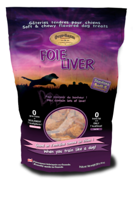 Ovenbaked Soft& chewy liver dog treat-1