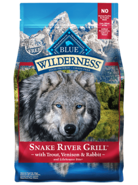 Blue Willderness  Formula Grains Free Snake River Grill dogs-1