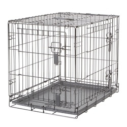 Dogit Two Door Wire Home Crates with divider-1