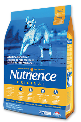 Nutrience Original Dry Food  Chicken Meal with Brown Rice Recipe dog Adult Medium Breed-1