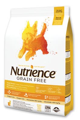Nutrience Grain Free Dry Food Turkey, Chicken & Herring Formula Small Breed-1