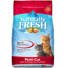 BLue Buffalo Naturally Fresh Walnut Cat Litter-1