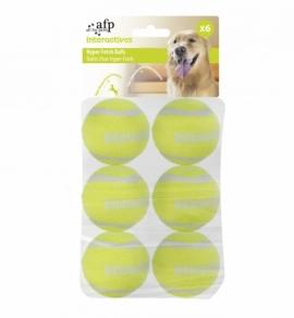 Afp balles pour lance balles automatique pat de 6 au royaume des animaux - Lance balle automatique chien ...