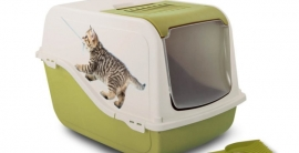Bergamo Litter Box Ariel Dome-1