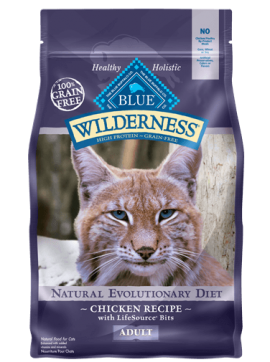 Blue Wilderness Dry food  Chicken formula for adult  cat 5.44Kg-1