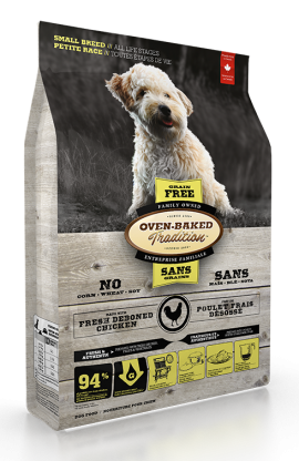 Oven-Baked Tradition Dry Food Dogs Small Breed Chicken Formula Grain Free All Stage Life-1