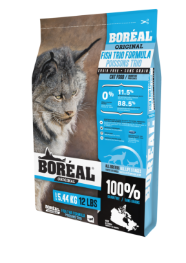 Boreal Fish Trio Grain free for Cat-1