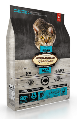 Oven-baked Tradition Grain Free fish For Cats-1