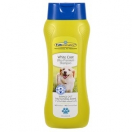 Furminator for white dog 16 Oz-1