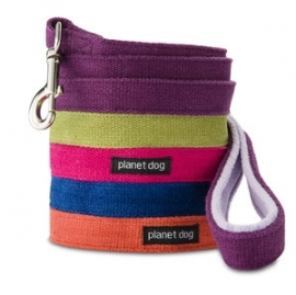 Planet Dog Cozy Hemp 5' Leash-1