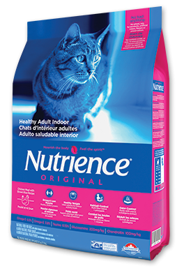 Nutrience Original Dry Food  Chicken Meal with Brown Rice Recipe Healthy Adult Indoor,-1
