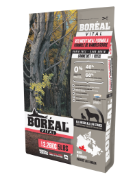 Boreal Vital All Breed Red Meal Grain Free Size: 2.26kg0
