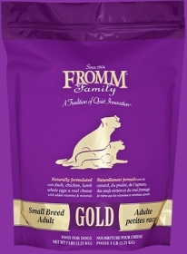 Fromm Gold Small Breed Size of bag: 6.8kg0