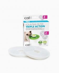 Catit Filtres à triple action – paquet de 2 0