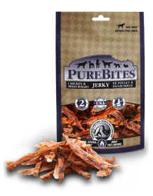 PureBites Treats Chicken And Sweet Potato Jerky For Dog 0