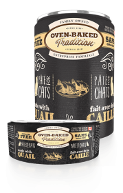Oven-Baked Tradition QUAIL PÂTÉ CANNED CAT FOOD 0