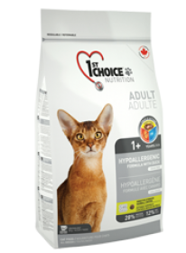 1st Choice Dry food  Cat Hypoallergenic Size: 5.44 Kg0