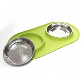 Messy Cats ALIMENTATEUR DOUBLE SILICONE 0
