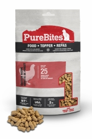 PureBites Chicken Recipe Cat Food - Topper For Cats 0