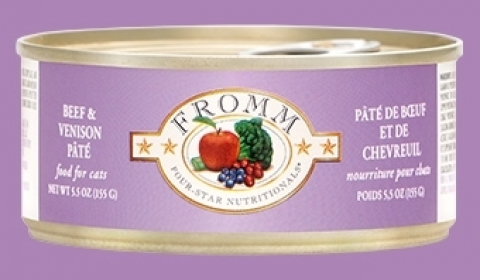 Fromm Beef & Venison Pate For Cats 0
