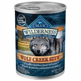 Blue Wilderness ''Wolf Creek Stew'' Ragoût de Poulet 0