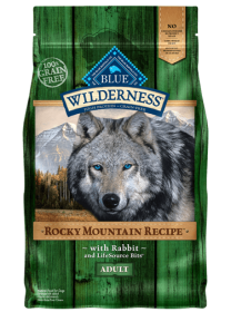 Blue Wilderness Dry food  Rocky Mountain Rabbit Receipe for dogs Size: 11.3 Kg0