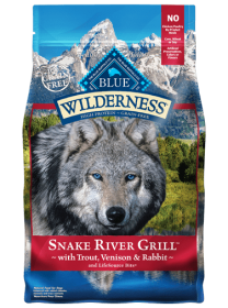 Blue Willderness  Formula Grains Free Snake River Grill dogs Size: 10 KG0