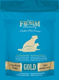 Fromm Gold Puppy Large Breed Size of bag: 15 Kg0