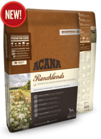 Acana Ranchlands For Dogs Size of bag: 11.4 Kg0