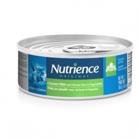 Nutrience Originale Pâté Au  Poulet Avec Riz Brun Chat 0