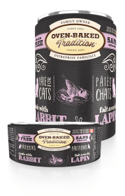 Oven-Baked Tradition Rabbit Pâté Canned For Cat 0