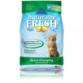 Blue Buffalo Naturally Fresh Walnut cat litter 0