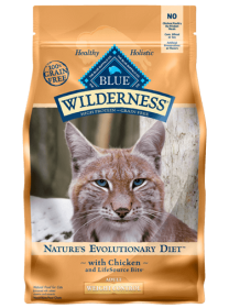 Blue Wilderness Pour Chat Adultes Format: 5 Lbs0