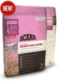 Acana Grass-Fed Lamb For Dogs Size of bag: 11.4 Kg0