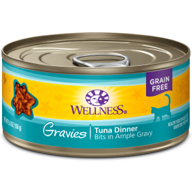 Wellness Complete Health Gravies Tuna Dinner For Cats 0
