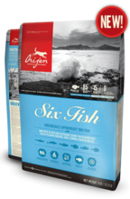Orijen Six Fish  for Dog Size: 11.4 Kg0