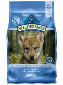 Blue Wilderness  Dry food Chicken Formula Puppy Size: 10.89 Kg0