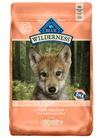 Blue Wilderness Dry food Chicken Recioe for Puppy Large Breed Size: 10.89 Kg0