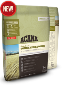 Acana Yorkshire Pork Size of bag: 11.4 Kg0