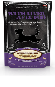 Oven-Baked Tradition Treats Liver for dog Flavor: 8.0oz0