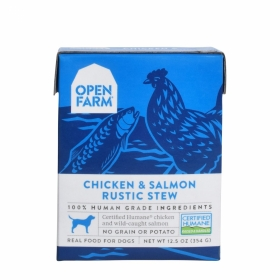 Open Farm Chicken & Salmon Rustic Stew Wet Dog Food 0