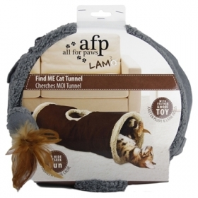 AFP  Lamb Tunnel pour chat Find Me, assorti 0