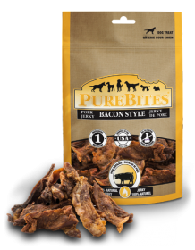 PureBites Treats Bacon Style Pork Jerky For Dog 0