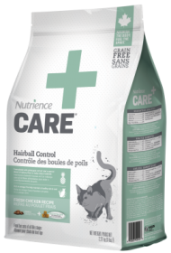 Nutrience + care dry food hairball control fresh chicken recipe for cats size: 2.27kg0