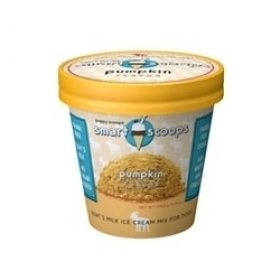 Puppy Scoops Goat's Milk Ice Cream Mix - Pumpkin for dogs 0