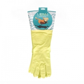 Messy Mutts COTTON LINED RUBBER WASHING GLOVES 0