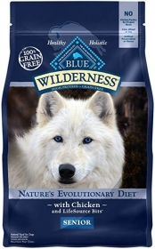 Blue Wilderness Dry Food Chicken Senoir Dogs size: 10.8KG0